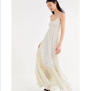 UO Carolina Floral Maxi Dress NWOT